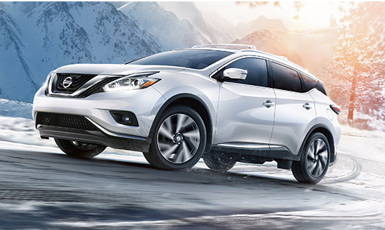 nissan murano in snow