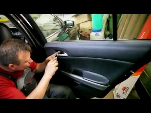 Honda Accord Disassembly door-Разборка двери Honda Accord